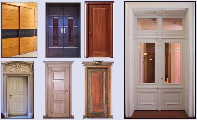 Ремонт двери из шпона