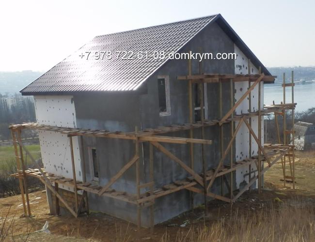 Отделка фасада каркасного дома варианты