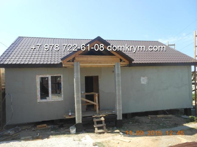 Утепление фасада дома с пенопласта