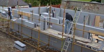 строительство дома из термоблоквов