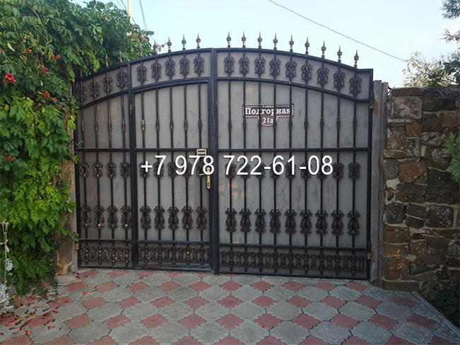 металлические ворота Симферополь