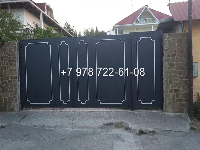 Ворота в Симферополе недорого