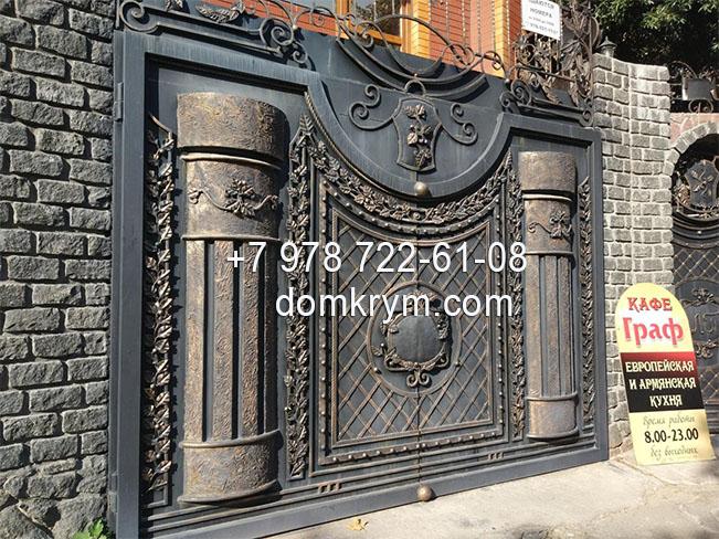 Ворота Симферополь цены