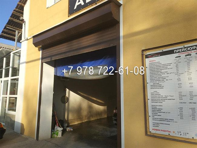Рулонные ворота купить в Симферополе