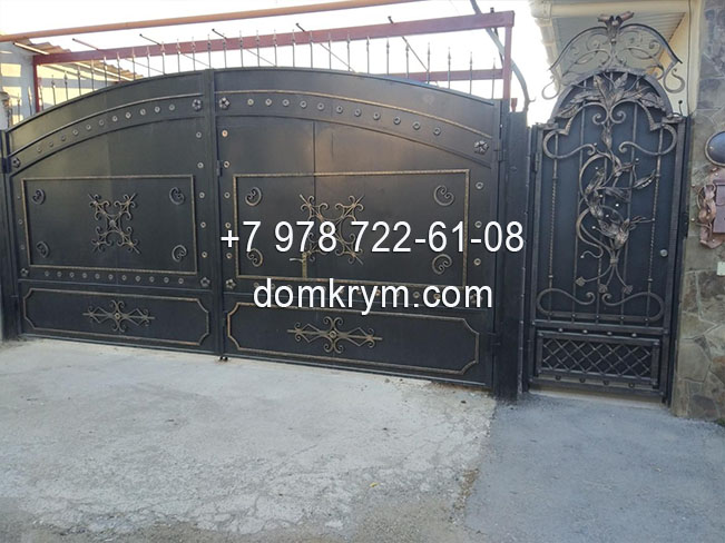 Изготовление ворот в Симферополе цена