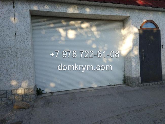 ворота в Симферополе Крым, установка
