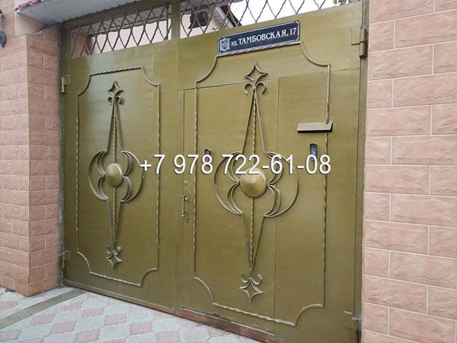 ворота металлические Симферополь