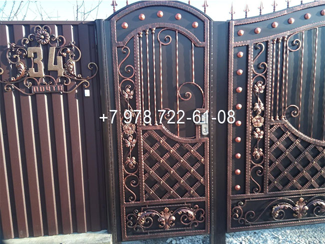 заказать ворота в Симферополе