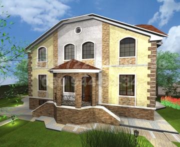 Дома из оцилиндрованного бревна конструктор