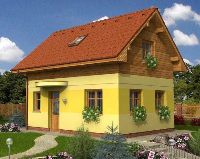 Построить дом в Крыму 75 кв