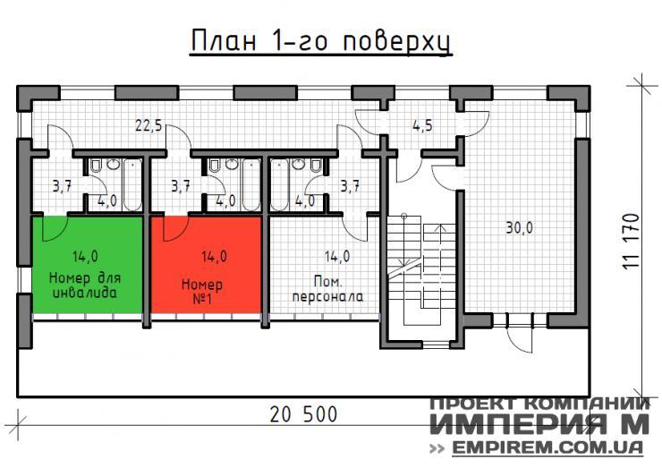 гостиница на 500 номеров проект все