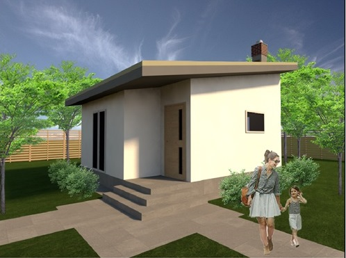 построить дом в Крыму 30 кв