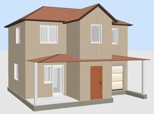 Построить дом в Крыму 96 кв. цена