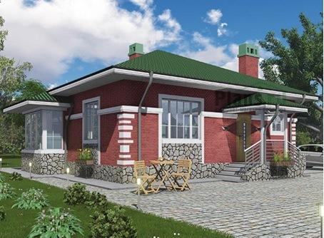 Построить дом в Крыму 92 кв. цена