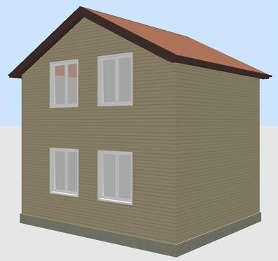 Построить дом в Крыму 60 кв