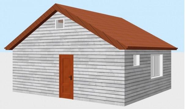 Построить дом в Крыму 48 кв