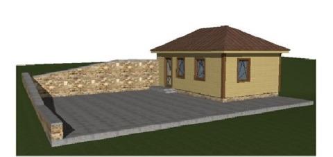 построить дом 43 кв