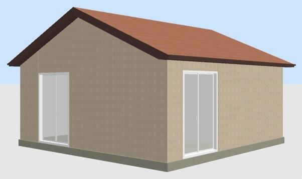построить дом в Крыму 36 кв