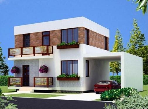 Двухэтажный дом в Крыму 102 м2