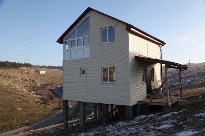Дома из сип-панелей в Севастополе